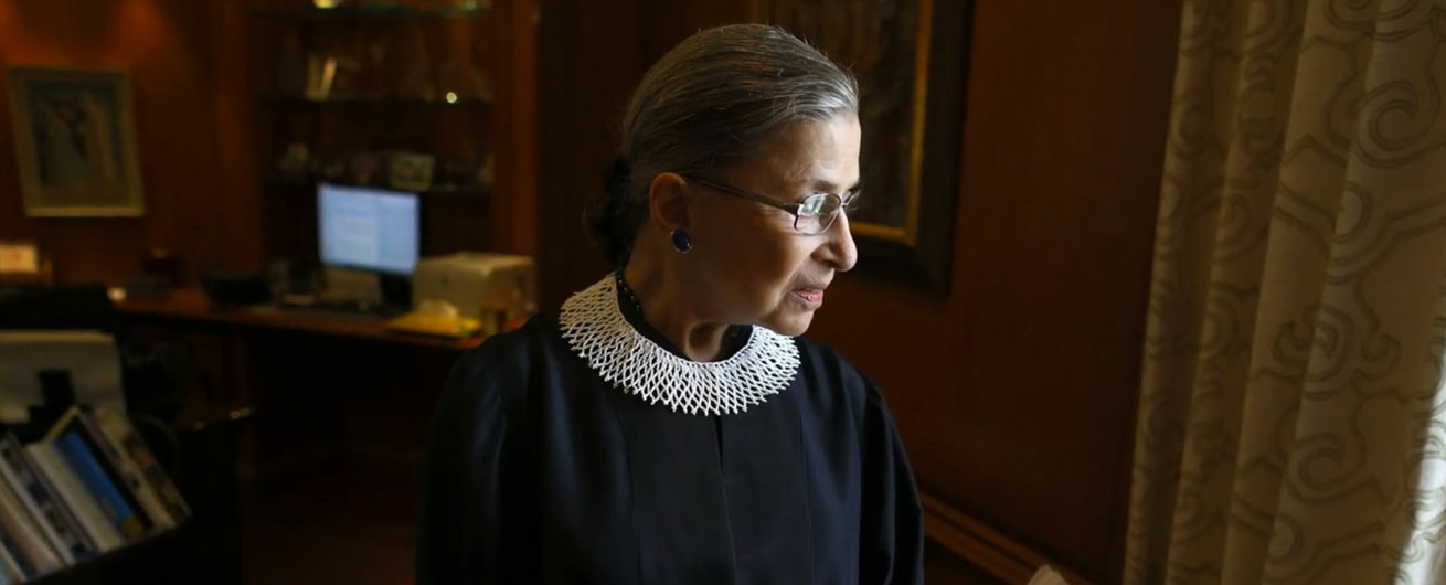 RUTH-Justice Ginsberg in her own words image